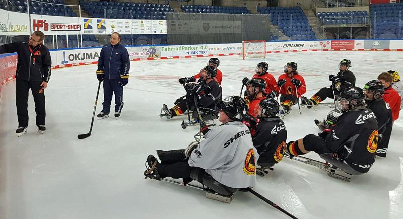 Para Eishockey: Endlich wieder auf dem Eis