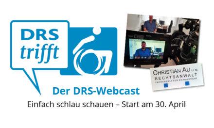 ›DRS trifft…‹ – Neue Webcast-Reihe startet am 30. April