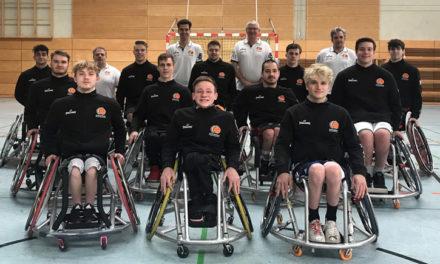 Rollstuhlbasketball: Richarz benennt U22-Kader für EM in Italien