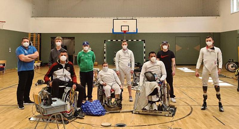 DBS-Leistungslehrgang Rollstuhlfechten in Rostock