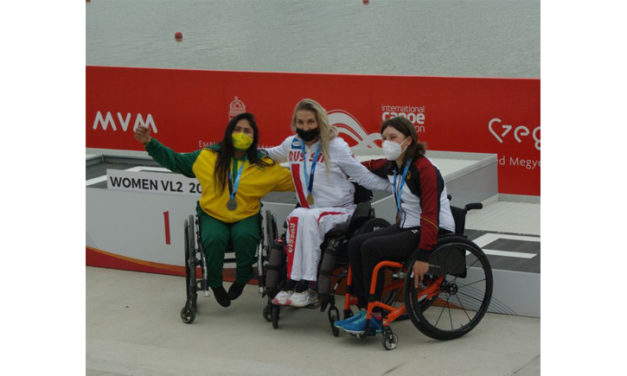Ein zweiter Medaillenrang für deutsches Parakanu-Team