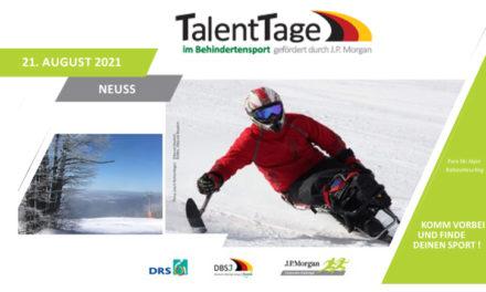 Weiterer DBSJ-TalentTag am Start