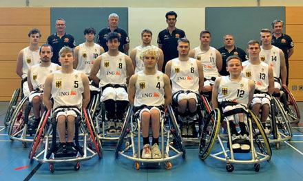 Rollstuhlbasketball-Junioren-EM: In einer Woche geht's los
