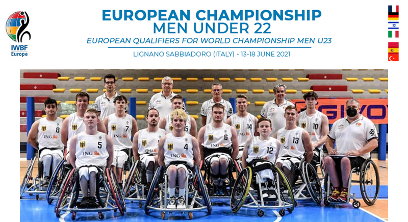 Rollstuhlbasketball: U22-EM der Herren in Italien