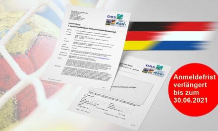 Rollstuhlhandball – Meldefrist zur 1. DHRM VERLÄNGERT