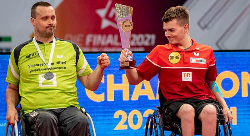 Thomas Schmidberger gewinnt Champions Trophy