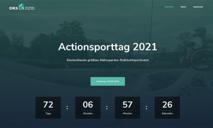 SAVE-THE-DATE: DRS-Actionsporttag 2021 in Hamburg