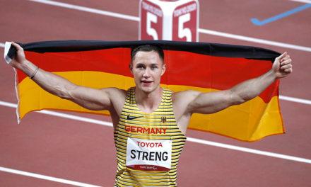 Erstes Gold für deutsches Para Leichtathlethikteam
