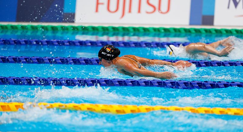 Para Schwimmen: 50 Meter Schmetterling