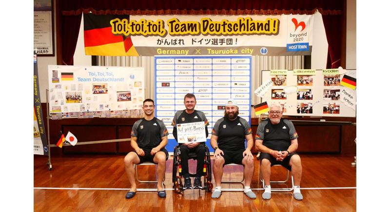 Paralympics-Post aus Japan