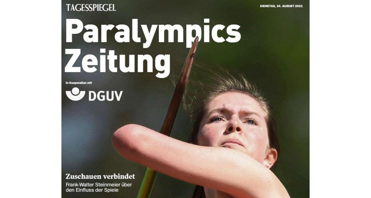 Paralympics Zeitung erscheint zum Start von Tokio 2020