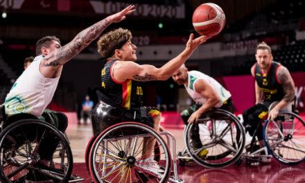 Deutsche Rollstuhlbasketballer kassieren 53:64-Niederlage