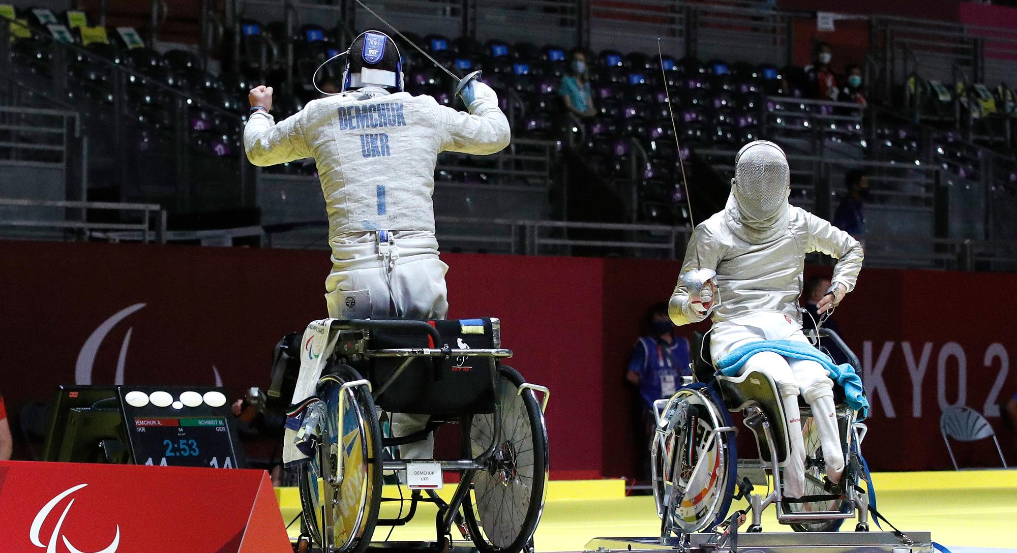 Paralympics (Paralympische Spiele) Tokio 2020 am 25.08.2021  Tag (+1)