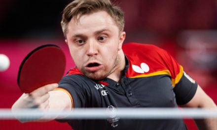 Para Tischtennis: Deutsches Team sichert sich zwei weitere Medaillen