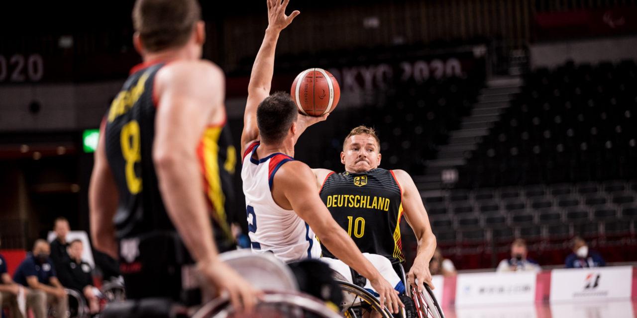 Tokio 2020: Rollstuhlbasketball der Herren