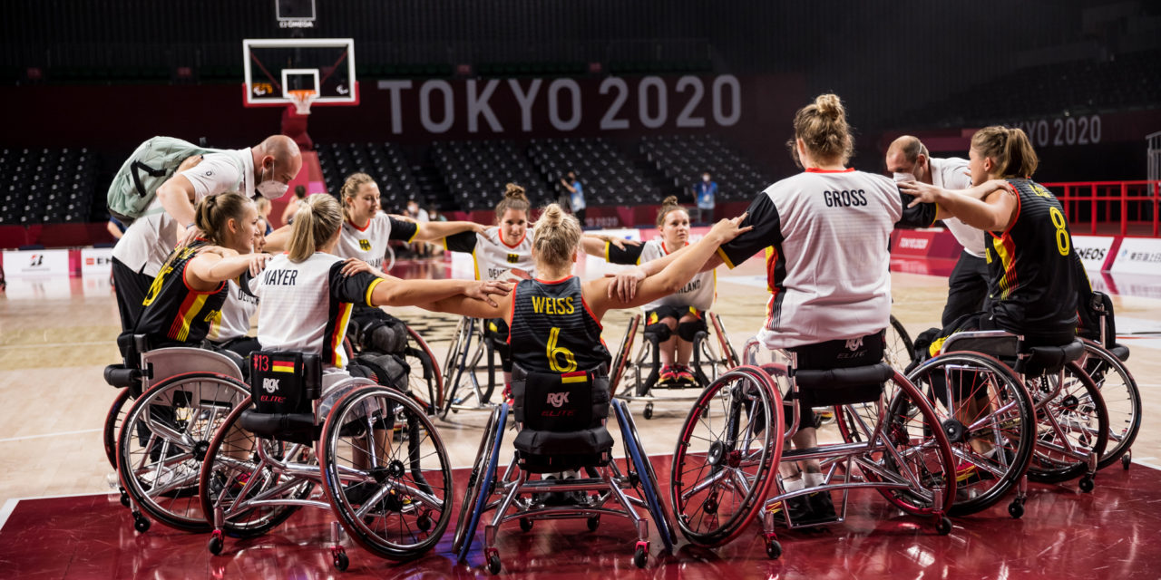 Rollstuhlbasketballerinnen: GER vs. GBR