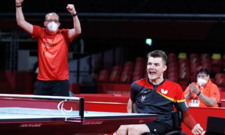 Para Tischtennis: Hochdramatisches Finale in WK4