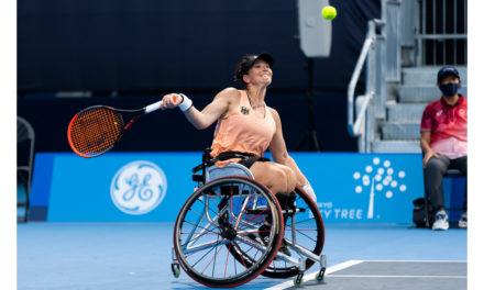 Rollstuhltennisspielerin Katharina Krüger verliert Auftaktspiel