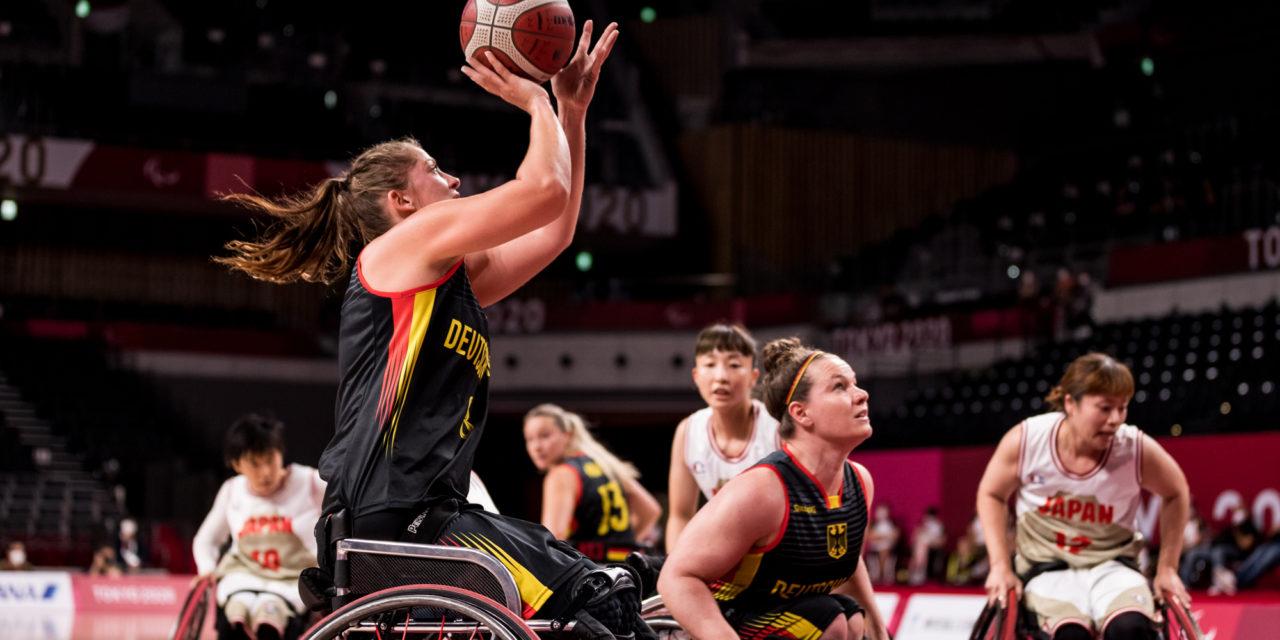 Rollstuhlbasketball: 59:54-Erfolg über japanische Gastgeberinnen