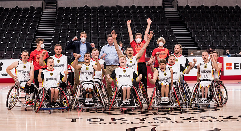 Rollstuhlbasketballer stehen im Viertelfinale von Tokio