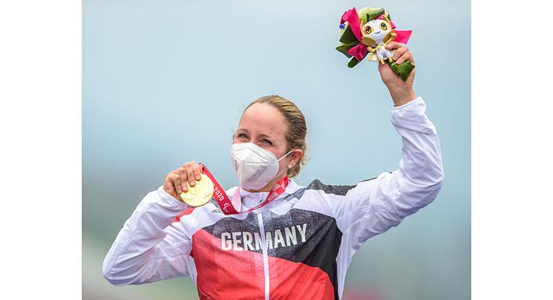 Para Radsport: Deutsches Team fährt zu Gold, Silber und Bronze