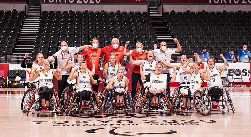 Rollstuhlbasketballerinnen greifen nach Edelmetall