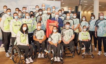 Team Deutschland Paralympics verabschiedet