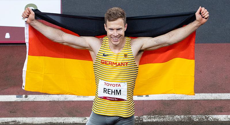 Markus Rehm fliegt zum dritten Weitsprung-Gold