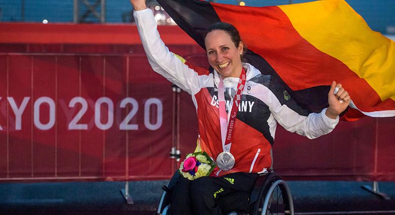 Para Radsport: Zweite Medaille im zweiten Rennen für Handbikerin
