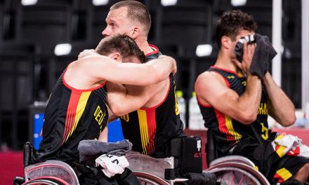 Knappe Viertelfinal-Niederlage für deutsche Rollstuhlbasketballer