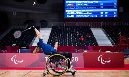 Badminton: Valeska Knoblauch für Viertelfinale qualifiziert