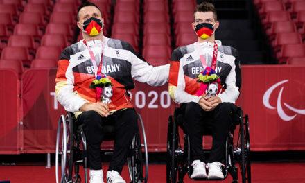 Rollstuhltischtennis: Silber im Teamwettbewerb