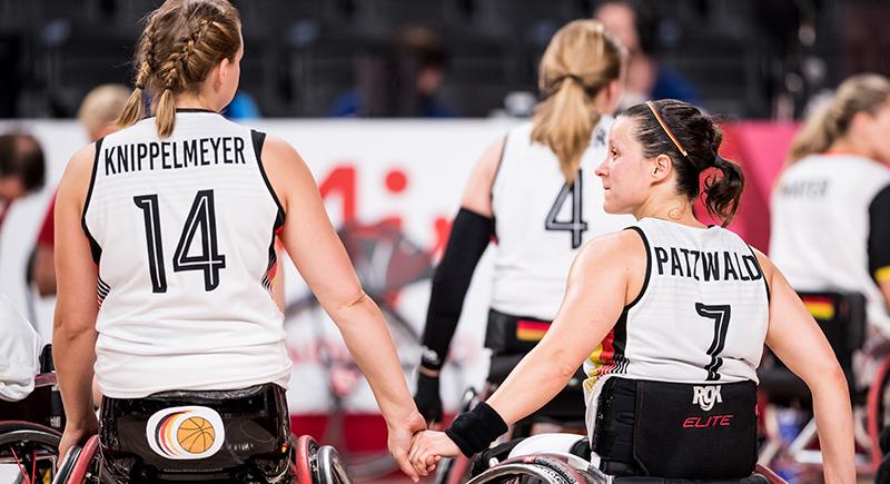 Rollstuhlbasketballerinnen müssen auf Bronze hoffen