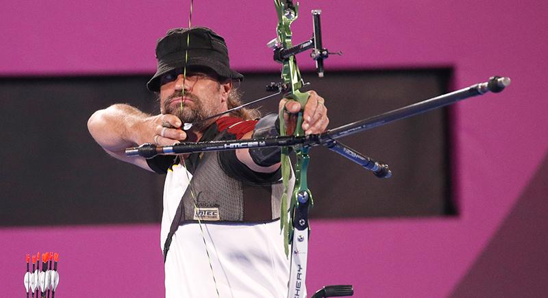 Deutscher Bogenschütze läßt schwache Qualifikation hinter sich