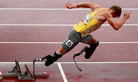 Para Leichtathletik-Wahnsinn: Medaillensatz in 30 Minuten