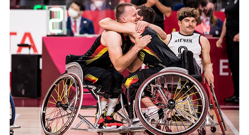 Versöhnlicher Abschluss für Rollstuhlbasketballer