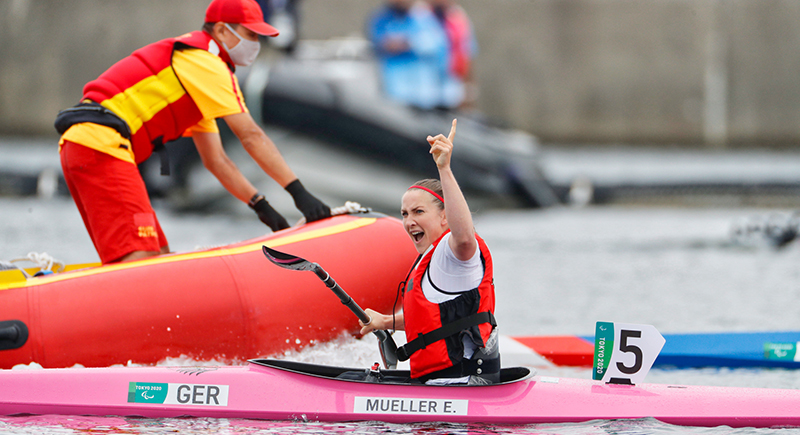 Gold und Bronze für Deutschland im Para Kanu