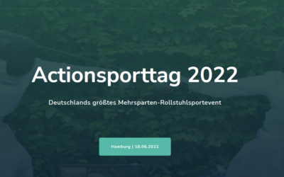 SAVE-THE-DATE: Actionsporttag 2022