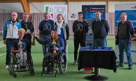 6. Rheinland-Pfalz Rollstuhltennis-Meisterschaft in Windhagen