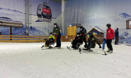 Erster Ski-Treff nach langer pandemiebedingter Pause